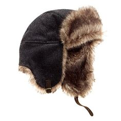 Finally. A trapper hat that's not all douche-mcgouche. Madewell Great Lakes Trapper Hat.