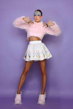 La favola di Ana Ljubinkovic - We Love Fashion Magazine Quirky Fashion, Whimsical Fashion, Love Fashion, Fashion Models, Fashion Tips, Fashion Designers, Rock And Roll, Unisex Hair Salon, Editorial Photography