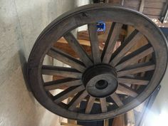 옛날 마차 바퀴