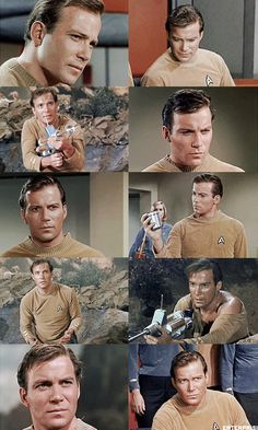 TOS PICSPAM: James T. Kirk in 1x02 - Where No Man Has Gone Before