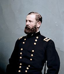Major General of the Union Fitz John Porter seen here in 1862 later on in that year he would be court-martialed for his actions at Second Bull Run American Civil War, American History, Sociological Issues, Siege Of Yorktown, Battle Of Antietam, Military Careers, Military Art, Union Army, Major General