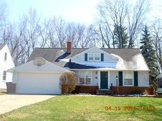 LYNDHURST, OH home - foreclosure home - RealtyStore.com Hud Homes, Foreclosed Homes, Shed, Outdoor Structures, Barns, Sheds