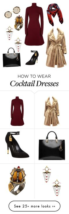 """""""Furry"""" by kjmazeltov on Polyvore featuring Dorothee Schumacher, Christian Dior, Tom Ford, Amrapali, Karl Lagerfeld and Miu Miu"""