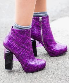 Dear Lucky: 'How Do I Wear Socks With Ankle Boots?'