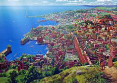 Tales From Earthsea - city of Hort Town