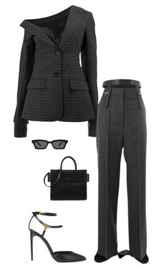 """""""Untitled #2748"""" by nava16 ❤ liked on Polyvore featuring Vera Wang, Tom Ford and Givenchy"""