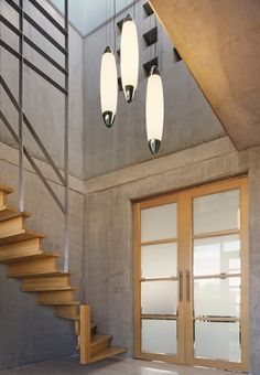 Pendants perfect for atriums or stairwells.