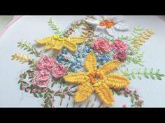 БРАЗИЛЬСКАЯ ВЫШИВКА: BRAZILIAN EMBROIDERY: Woven Picot stitch - YouTube