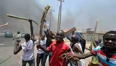 Mob Set Suspected Robber Ablaze In Warri