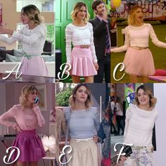 Women Fashion New Fashion – Women Teen Fashion Outfits, Disney Outfits, New Fashion, Womens Fashion, Violetta Outfits, New Disney Channel Shows, Tv Actors, Character Outfits, Printed Skirts