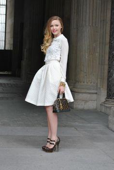 Oh so pretty - Kristina Bazan in Paris.