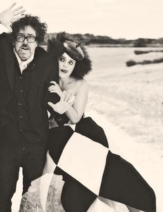 Tim Burton and Helena Bonham Carter Despite their splitting up, and how devastated I am about it, these are two of the most talented people of our generation and their work is timeless.