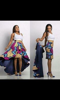 Idea para un vestido típico estilizado.