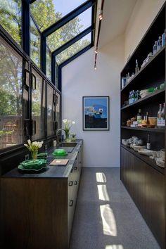 Modern kitchen interior design inspiration bycocoon.com | sturdy stainless steel kitchen taps | kitchen design | project design & renovations | RVS keukenkranen | Dutch Designer Brand COCOON | Butlers Pantry Farmhouse by A.D.D. Concept   Design.