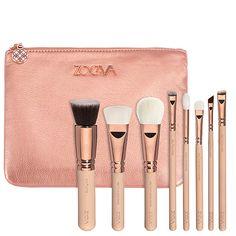 Rose Golden Vol. 2 Luxury Set – Kit de Pinceaux Teint + Yeux