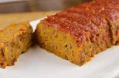 Delicious gluten free, dairy free and paleo friendly Beef and Sweet Potato Meatloaf in a Tomato-Maple Glaze. A great family meal. Gf Recipes, Chicken Recipes, Snack Recipes, Cooking Recipes, Savoury Recipes, Snacks, Free Recipes, Easy Recipes, Minced Beef Recipes