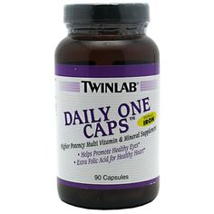 Twinlab Daily One Caps without Iron  90 Capsules >>> Check this awesome product by going to the link at the image.  This link participates in Amazon Service LLC Associates Program, a program designed to let participant earn advertising fees by advertising and linking to Amazon.com.