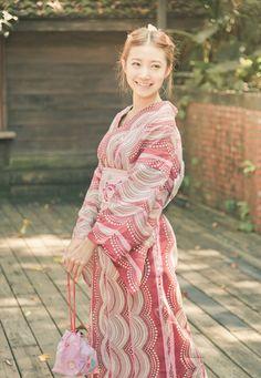 [フリー画像素材] 人物, 女性, アジア女性, 和服 / 着物 / 浴衣, 台湾人, モデル:萱萱 ID:201309191900