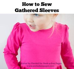 How to Sew Gathered
