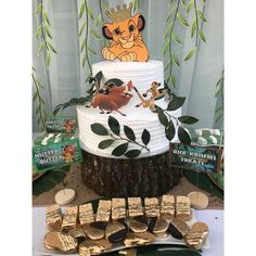 Lion King Party – Building Our Happily Ever After Lion King Birthday, Baby Boy Birthday, Boy Birthday Parties, Birthday Ideas, 4th Birthday, Lion King Theme, Lion King Party, Lion Party, Lion King Cupcakes