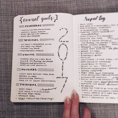 Crush your business goals this year bullet journaling - bujo