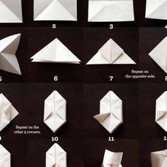Guirlande de papier origami