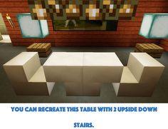 Simple Minecraft Table