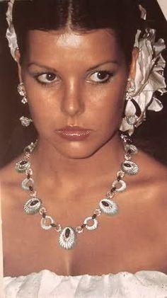 Princess Caroline Jewellery (Monaco and Hanover) - Red Cross Ball 1975
