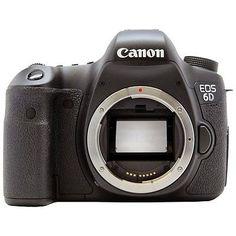 Canon EOS 6D DSLR Body /OR/ Kit with 24-105 f/4L IS USM Lens. Digital SLR Camera