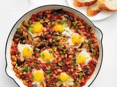 Ratatouille Skillet Eggs recipe from Food Network Kitchen via Food Network