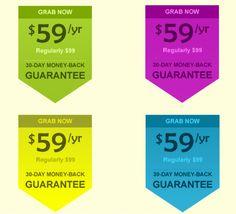 Flatten Sale Label PSD
