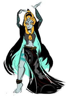 trying to remember how to draw also i lOVE MIDNA