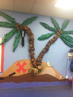 Decor for treasure island