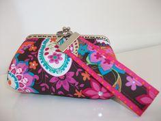 Conjunto:Porta-moedas e porta- chaves Purse and keychain
