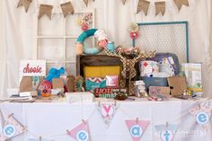 Boutique or Market booth set up, display your items