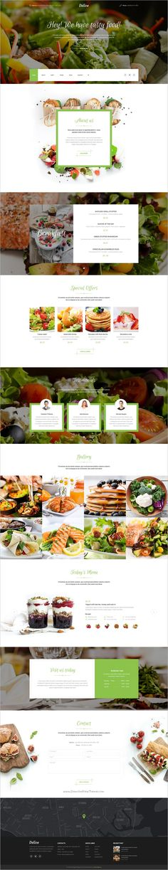 Delice is a wonderful premium #PSD #Template for different #food restaurants and food services website with 17+ organized PSD pages download now➯ https://themeforest.net/item/delice-power-multipurpose-food-restaurant-psd-template/17112905?ref=Datasata