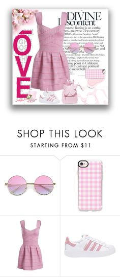 """Divine"" by gemique ❤ liked on Polyvore featuring Casetify, adidas Originals and Sophia Webster"