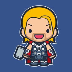 Updated my Avengers series to my current layout. - Visit to grab an amazing super hero shirt now on sal Baby Marvel, Chibi Marvel, Baby Avengers, Marvel Art, Avengers Cartoon, Marvel Cartoons, Marvel Avengers, Thor Wallpaper, Cartoon Wallpaper