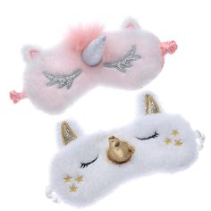 Lovely Unicorn Sleeping Eye Cover Cartoon Blindfold Eyes Mask Shadow Cover for Girl Kid Traveling SleepHealth Care Tools – Nana's Corner Beauty Cosmetic