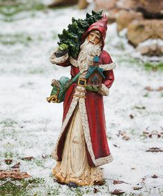 Old World Santa & Gifts Figurine