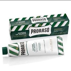 Proraso Refresh Shaving Cream  For over 50 years, Proraso products have provided the pleasure of a smooth shave, like you would enjoy from your trusted barber.  Formulated with a traditional combination of eucalyptus oil, menthol, and glycerin, Proraso Shaving Cream moisturizers and protects the skin for a smooth, comfortable shave.  Creamy, rich later softens eaven the thickest beard.  Made in Italy.