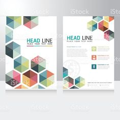 Abstract Triangle Business Brochure Flyer design vector template royalty-free abstract triangle business brochure flyer design vector template stock vector art & more images of newspaper