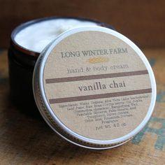 Vanilla Chai Skin Cream