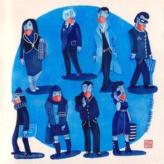 Illustration by Hilda © Groenesteyn / studio Hille Blues, Shit Happens, Studio, Illustration, Studios, Illustrations