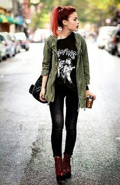 Bad girl - Tendencia Neo punk