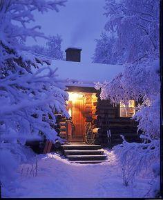 La nuit en Finlande