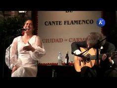 Rosi Campos por granainas - Final Concurso Nacional Cante Flamenco Ciudad de Carmona Vídeo de asociacion cultural karcomen en Youtube