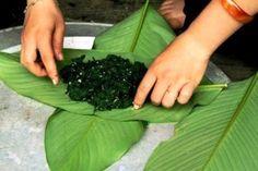 Thưởng thức món rêu đá đặc sản người Thái