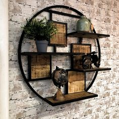 The essentials of my first apartment - HomeDBS House Plants Decor, Plant Decor, Metal Furniture, Home Decor Furniture, Living Room Designs, Living Room Decor, Driftwood Chandelier, Rustic Bathroom Designs, Diy Hanging Shelves