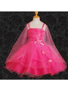 A-Line/Princess Sleeveless Spaghetti Strap Knee-Length Tulle Ruffles Flower Girl Dresses >> http://www.dylanqueen.co.uk/a-line-princess-sleeveless-spaghetti-strap-knee-length-tulle-ruffles-flower-girl-dresses.html